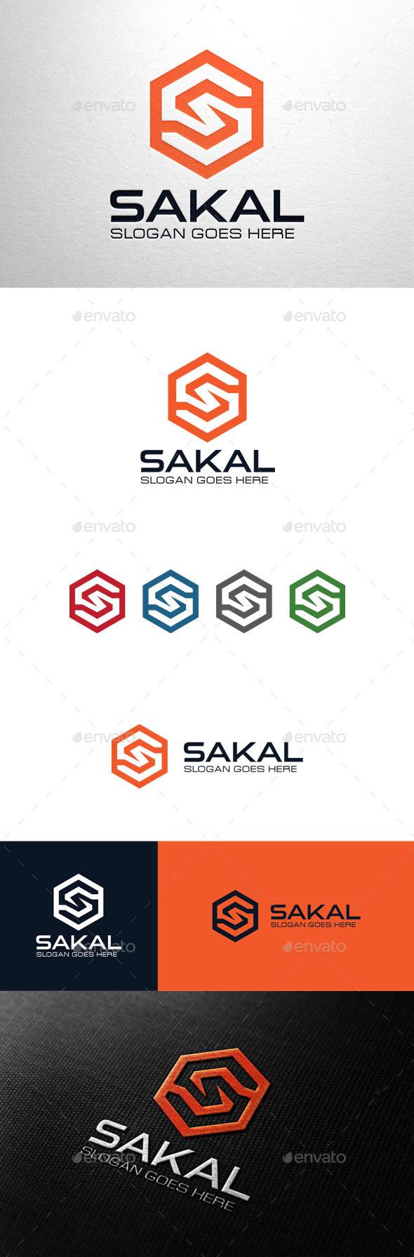 GraphicRiver Sakal Letter S Logo 11051514