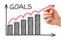 Goals Chart Concept - PhotoDune Item for Sale