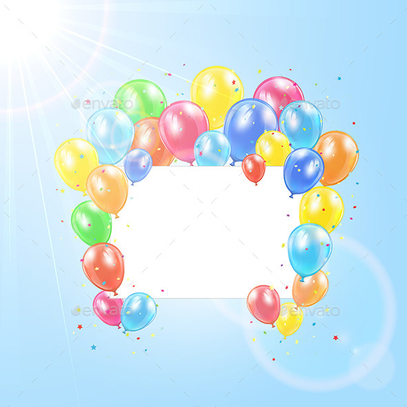GraphicRiver Balloon Background 11051652