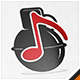 Sound Grenade Music Logo - GraphicRiver Item for Sale