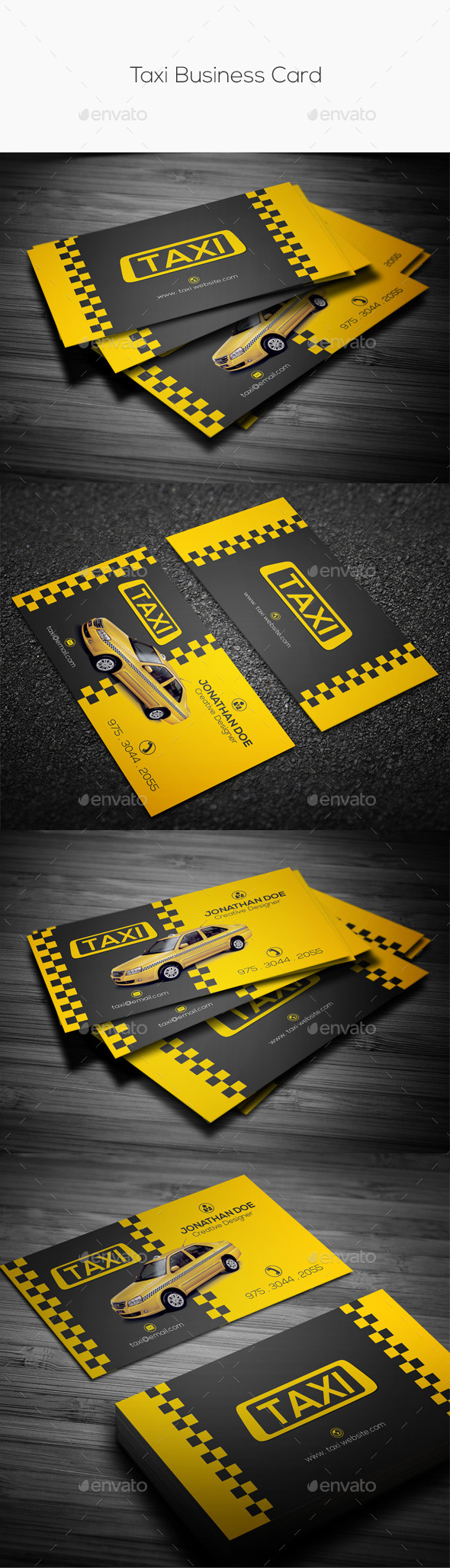 GraphicRiver Taxi Business Card 11051930