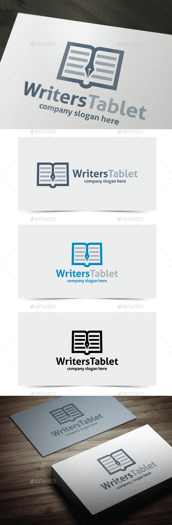 GraphicRiver Writers Tablet 11052099