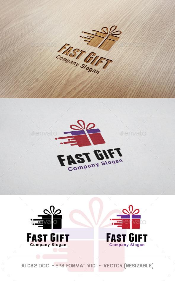 GraphicRiver Fast Gift Logo 11052186