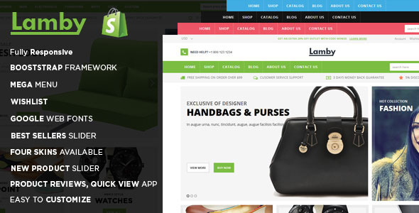 ThemeForest Lamby Responsive Shopify Theme 11052187