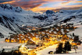 Ski resort in French Alps,Saint jean d'Arves - PhotoDune Item for Sale