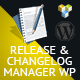 Release & Changelog Manager WP - CodeCanyon Item for Sale