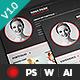 Clean & Elegant Resume - GraphicRiver Item for Sale