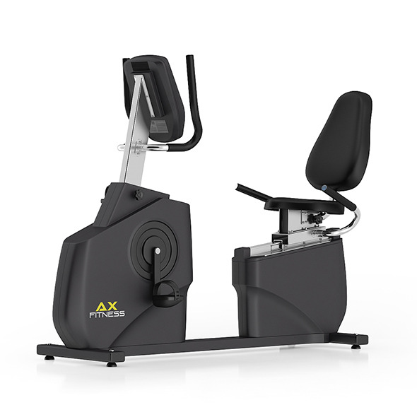 Stationary Horizontal Bike - 3DOcean Item for Sale