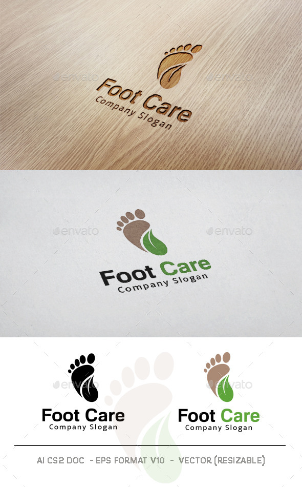GraphicRiver Foot Care Logo 11052914