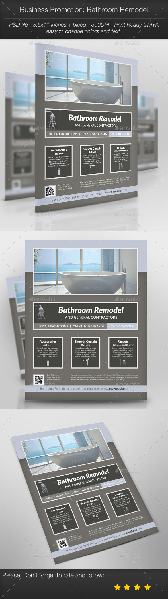 GraphicRiver Business Promotion Bathroom Remodel 11052940