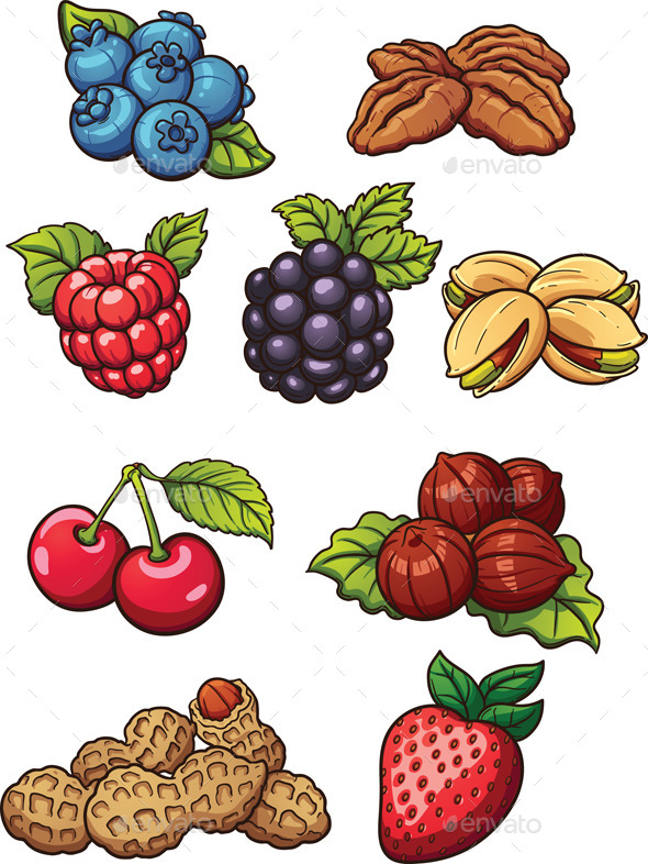 GraphicRiver Nuts and Berries 11053617