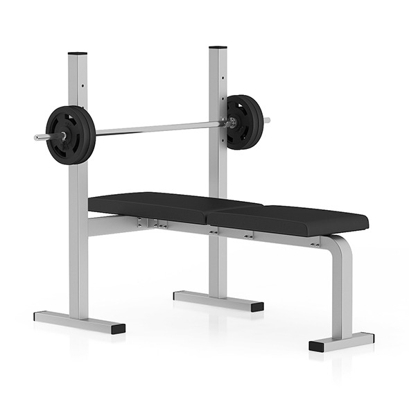 3DOcean Flat Weight Bench 11054535