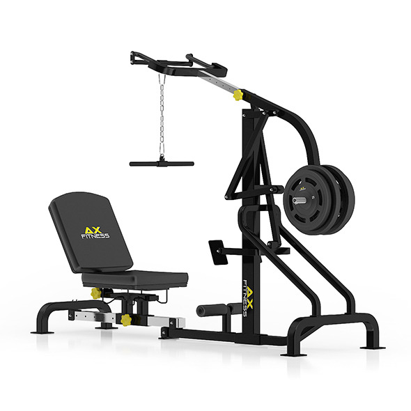 3DOcean Lever Gym Machine 11054852