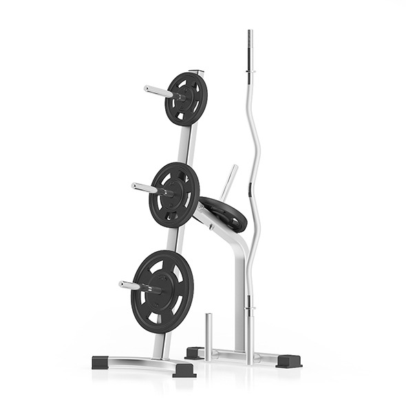 3DOcean Weight Rack 11055365