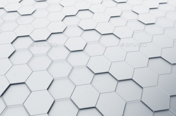 GraphicRiver Abstract 3D Rendering of Futuristic Surface 11055628