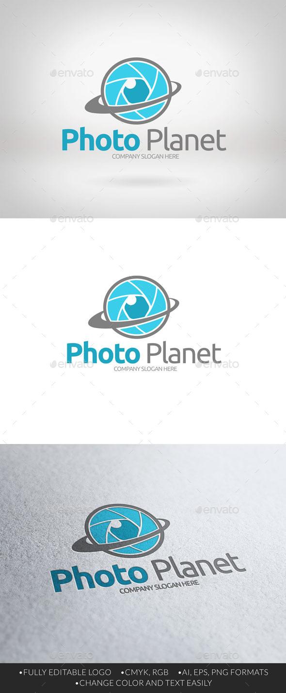 GraphicRiver Photo Planet Logo v2 11056243
