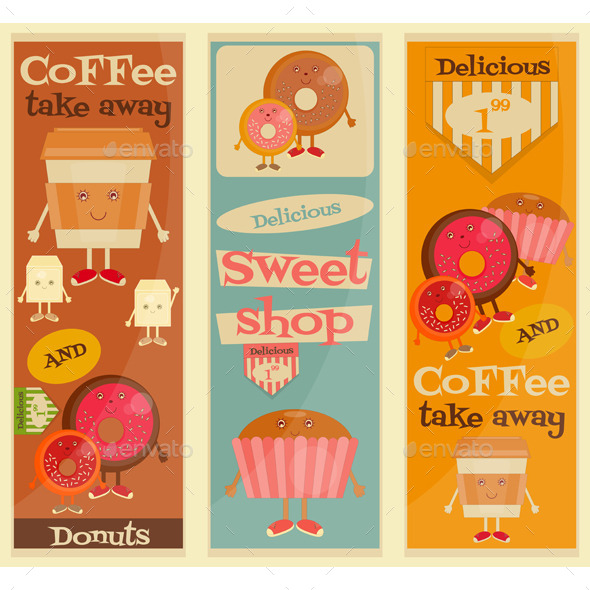 GraphicRiver Cafe Sweet Shop 11056294