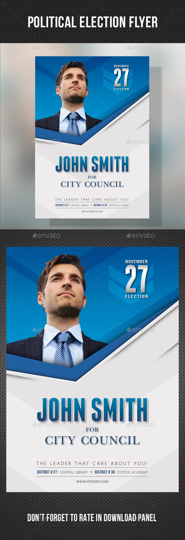 GraphicRiver Political Election Flyer Template V2 11056376