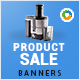 Product Sale Banners - GraphicRiver Item for Sale
