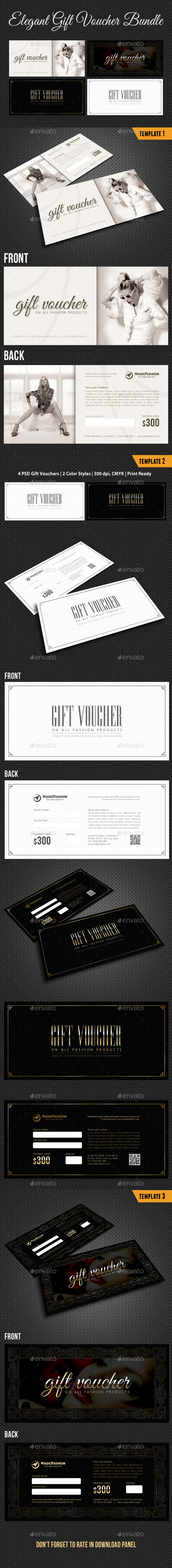 GraphicRiver 3 in 1 Elegant Gift Voucher Bundle 01 11056562