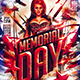 Flyer Memorial Day Konnekt - GraphicRiver Item for Sale
