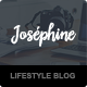 Josephine - WordPress Theme For Lifestyle Bloggers - ThemeForest Item for Sale