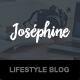 Josephine - WordPress Theme For Lifestyle Bloggers - ThemeForest Item for Sale