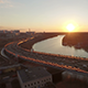 Moscow Jivopisny Bridge at Early Spring - VideoHive Item for Sale