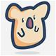 Koala Logo - GraphicRiver Item for Sale