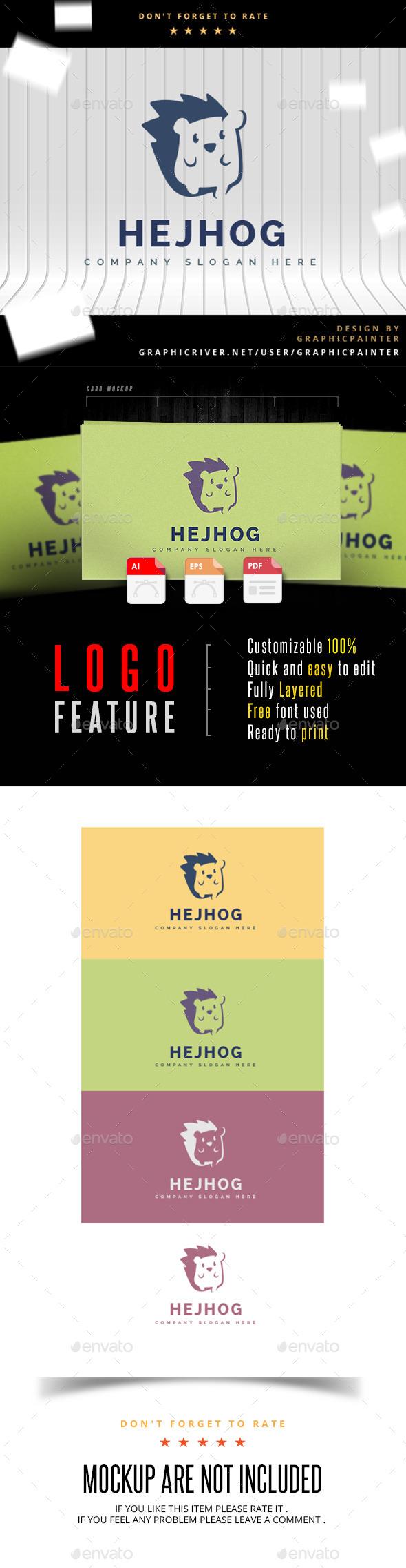 GraphicRiver Hejhog Logo 11039266