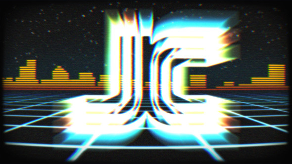 VideoHive Logo Reveal Retro VHS Tape 11057251