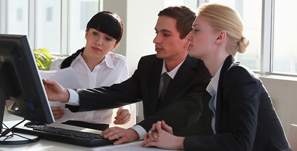 Business People at Meeting VideoHive Stock Footage  Business Corporate 1107191