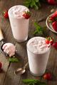 Refreshing Homemade Strawberry Milkshake