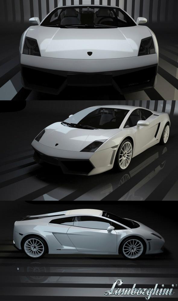 3DOcean Lamborghini Gallardo 11058764