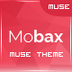 Mobax - App Landing Page Muse Templates - ThemeForest Item for Sale
