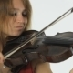 Talented Girl Violinist Playing On Her a Musical - VideoHive Item for Sale