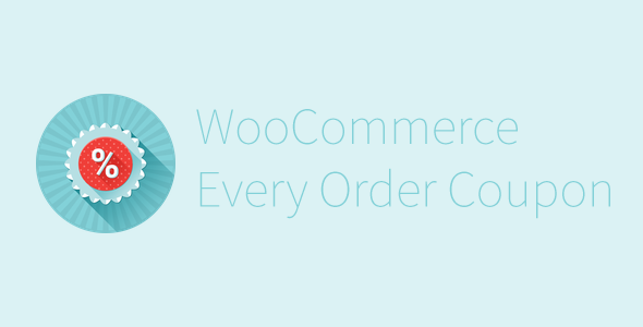 CodeCanyon WooCommerce Every Order Coupon 11058958
