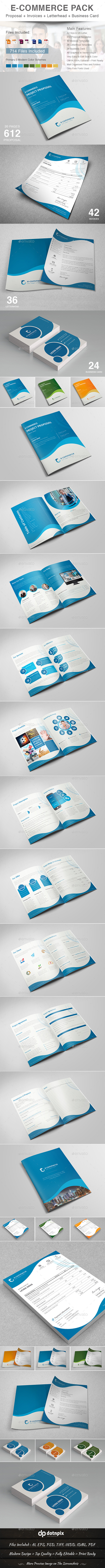 GraphicRiver E-Commerce Business Pack 11059194