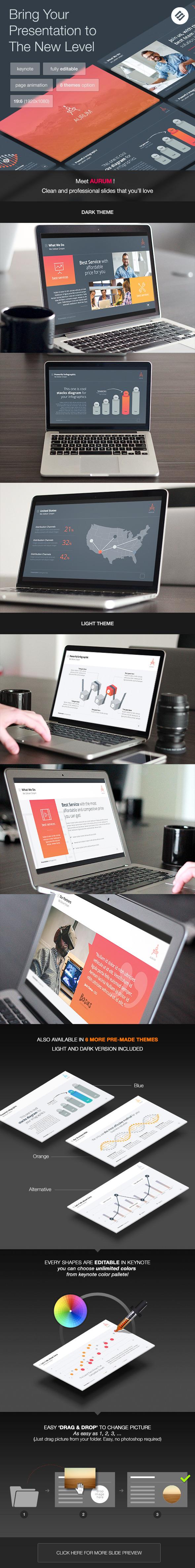 GraphicRiver Aurum Agency Keynote Template 11059206
