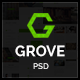 Grove | Multipurpose PSD Template - ThemeForest Item for Sale