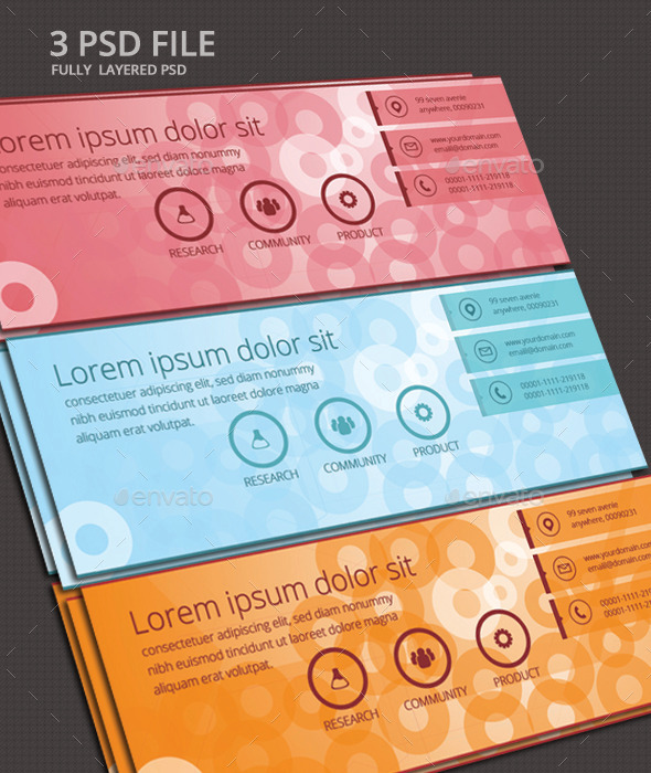 GraphicRiver Corporate Facebook Cover Templates Multiple Color 11059288
