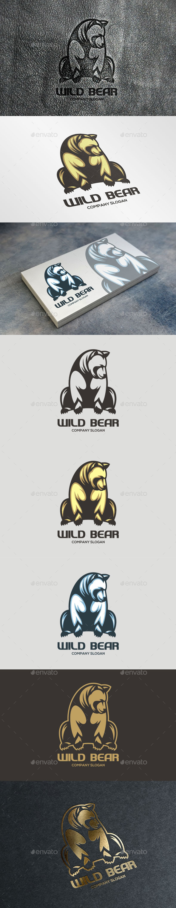 GraphicRiver Wild Bear Logo 11059410