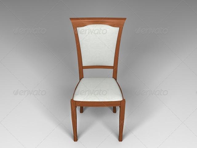 3DOcean diningroom chair 137006
