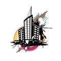 Urban scene design background - PhotoDune Item for Sale