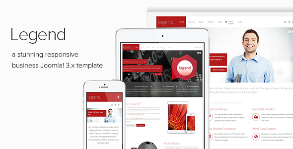 Legend - Clean Business Joomla Template - Corporate Joomla