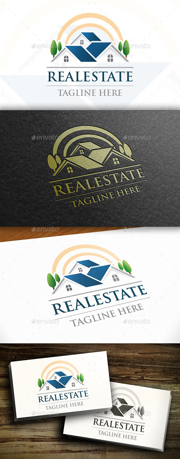 GraphicRiver Real Estate Logo Design 11060394