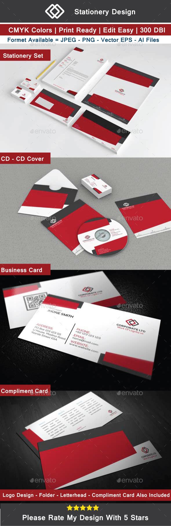 GraphicRiver Corporate Ltd Identity 11060432