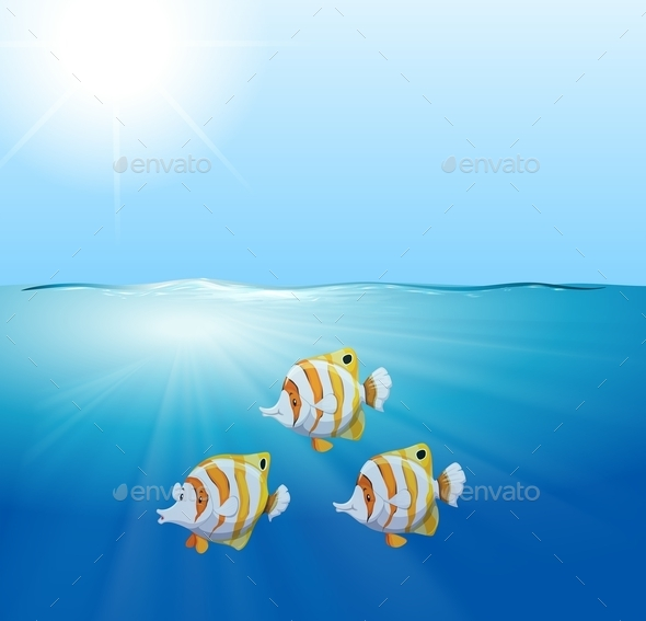 GraphicRiver Fishes 11060544