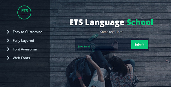 ThemeForest ETS Language School Landing Page Muse Template 11060864