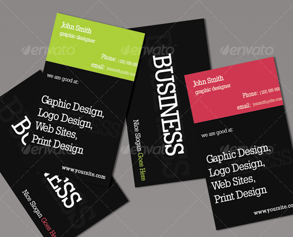 GraphicRiver Ty business card 43878